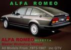 Thumbnail ALFA ROMEO ALFETTA GTV 1973-1987 Workshop Service Manual PDF