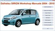 Thumbnail Daihatsu Sirion Master Repair-Electrical-Body MANUAL