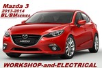 Thumbnail Mazda 3 2013-2014 BL-BM Workshop-Service-Electrical Manual
