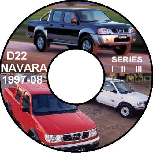... picture NISSAN NAVARA D22 SERIES 1997-2008 MASTER WORKSHOP MANUAL