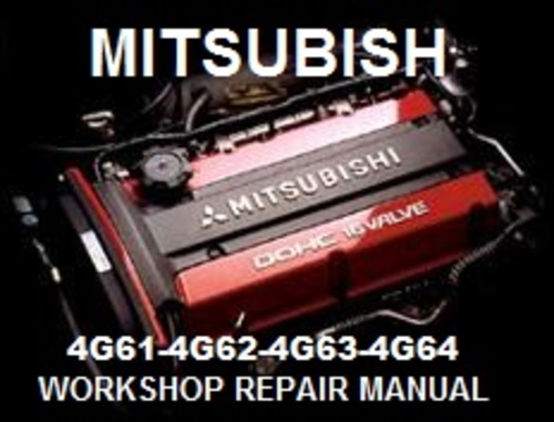 Product picture MITSUBISHI 4G61 4G62 4G63 4G64 REPAIR MANUAL