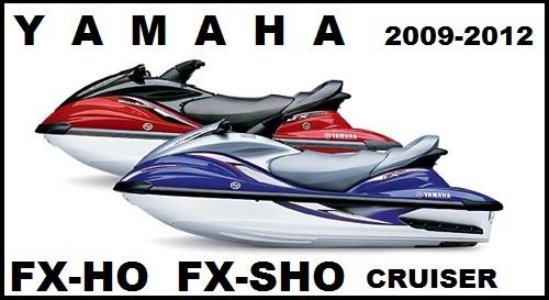 Product picture YAMAHA WAVERUNNER FX HO / FX SHO / FX SHO CRUISER 2009-2012